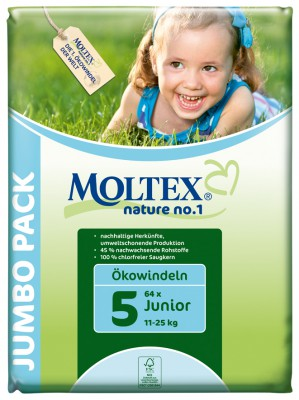 Moltex Öko Junior 2 Sac a 64 pc